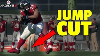 The Most UNDERUSED Ballcarrier Move in Madden 18 - How to JUMP CUT!!!