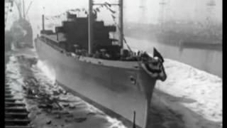 Henry Kaiser on Liberty Ships