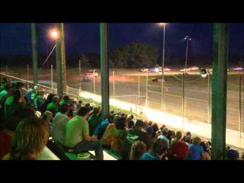IMCA Stock Car Lincoln County Raceway 2014