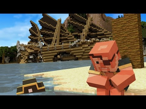 Minecraft | STRANDED ON AN ISLAND! (Ship Wreck in Minecraft)