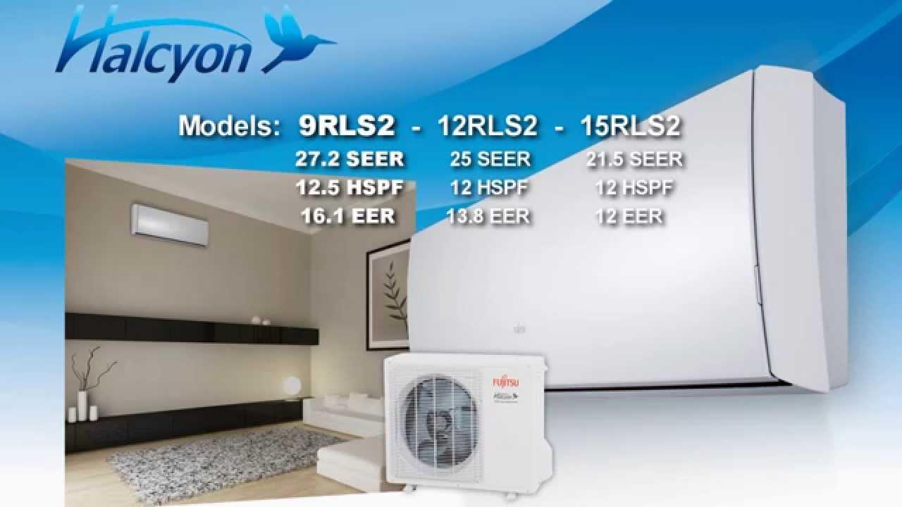 Fujitsu High Efficiency Wall Mounted Heating and Cooling ...