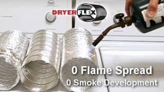 DryerFlex - New Clothes Dryer Transition Hose, Dryer Flex