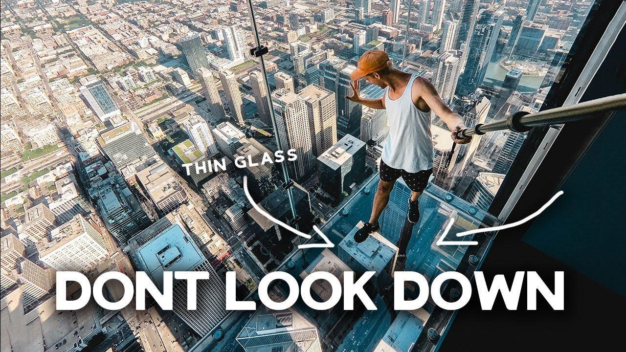 GLASS FLOOR 103 stories HIGH in Chicago