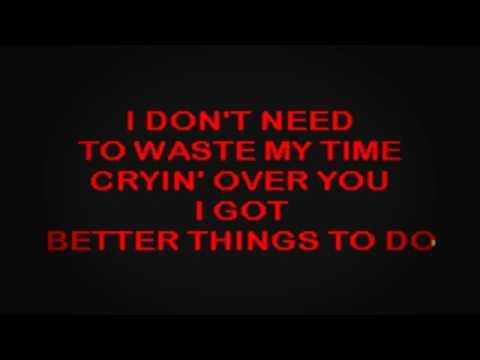 SC2212 02   Clark, Terri   Better Things To Do [karaoke]