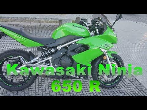 Review Kawasaki Ninja 650 R 2009