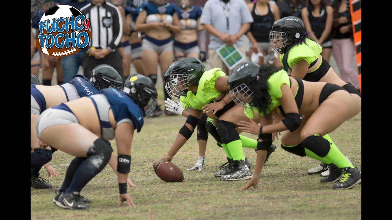 Morrigans Vs Mambas Futbol Americano En Lencería (2T