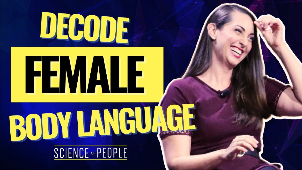 female body language feet