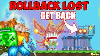 WHAT DID I LOST BECAUSE OF ROLLBACK!! (450 DLS) OMG!! | GrowTopia