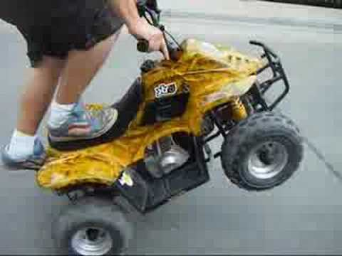 (HAWK) KIDS 110CC ATV - 6INCH - 4wheeler