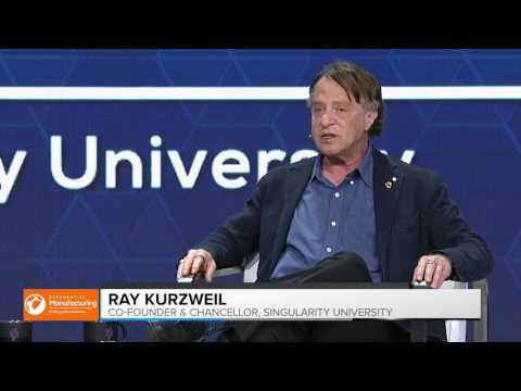Interview | Ray Kurzweil | Exponential Manufacturing