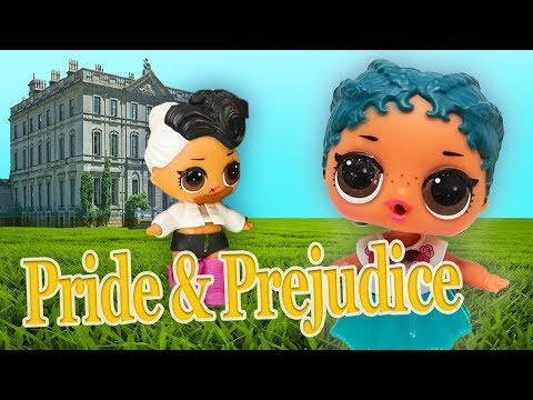 LOL Surprise Dolls Perform Pride and Prejudice! Starring Sugar Queen, Dollface, MC Swag, and Beats!