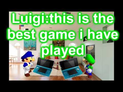 Super mario 64 bloopers:mario & Luigi in summer vacation