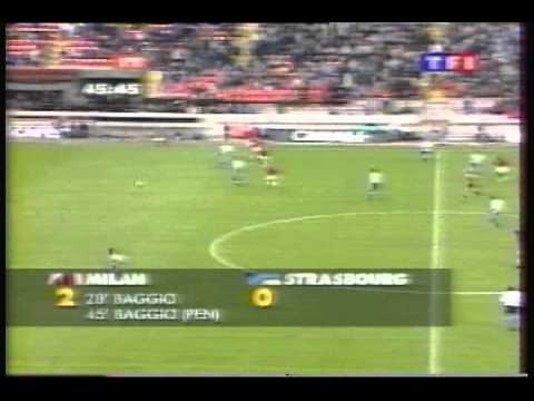 1995 (November 2) AC Milan (Italy) 2-Strasbourg (France) 1 (UEFA Cup).avi