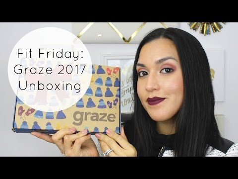 Fit Friday: My First Graze 2017 Unboxing + Subscription Update