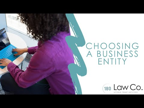 All Up In Yo' Business: Choosing a Business Entity