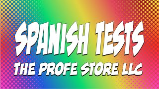 Spanish Test Preview