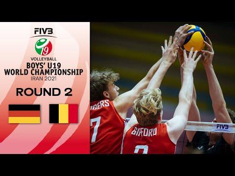 GER vs. BEL - Eightfinals | Boys U19 World Champs 2021
