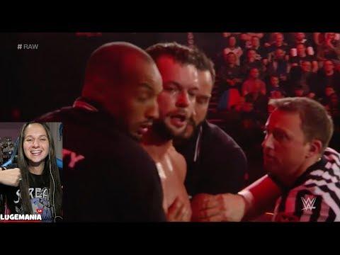 WWE Raw 11/6/17 Samoa Joe and Finn join Team Raw