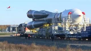 Космодром Восточный. Вывоз РН «Союз-2.1а»