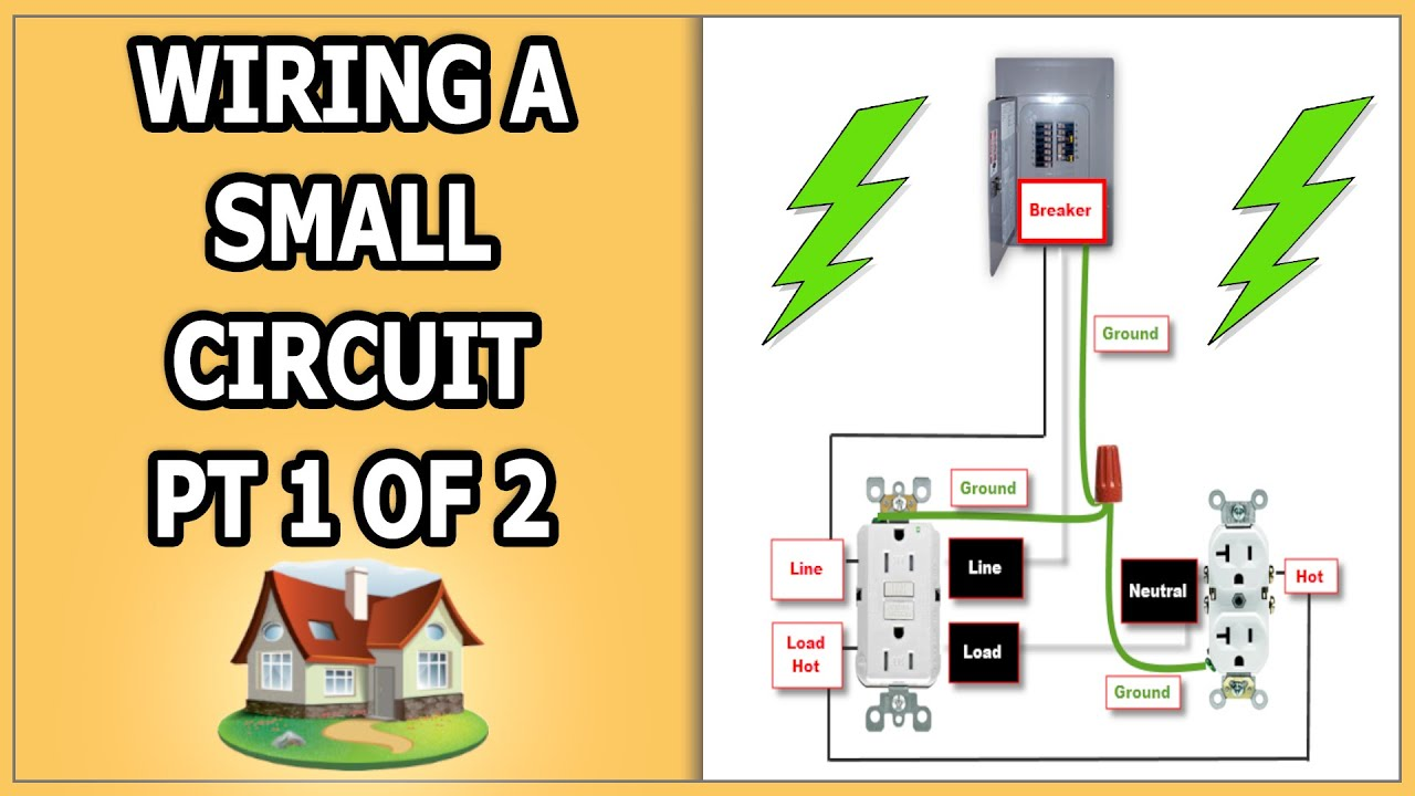 Wiring Small Garage Circuit  Pt 1 of 2  YouTube
