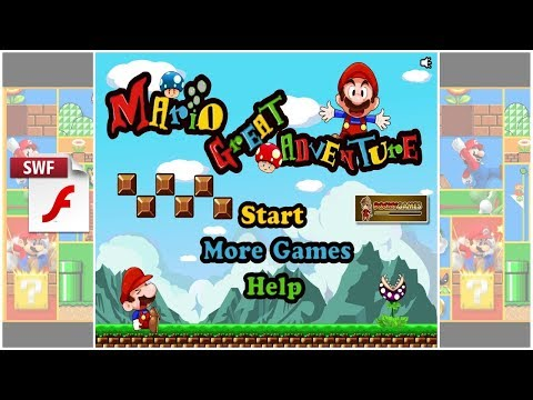 Mario Great Adventure | Flash Game