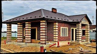 Как построить дом от фундамента до крыши.Благоустройство.рф