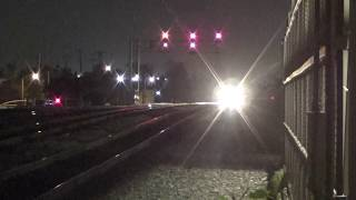 Amtrak #4 Southwest Chief arrival at Fullerton station 2017-11-11