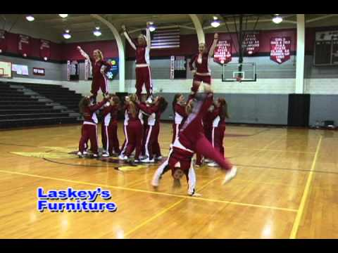 Laskey Furniture Cheerleaders 2011 1