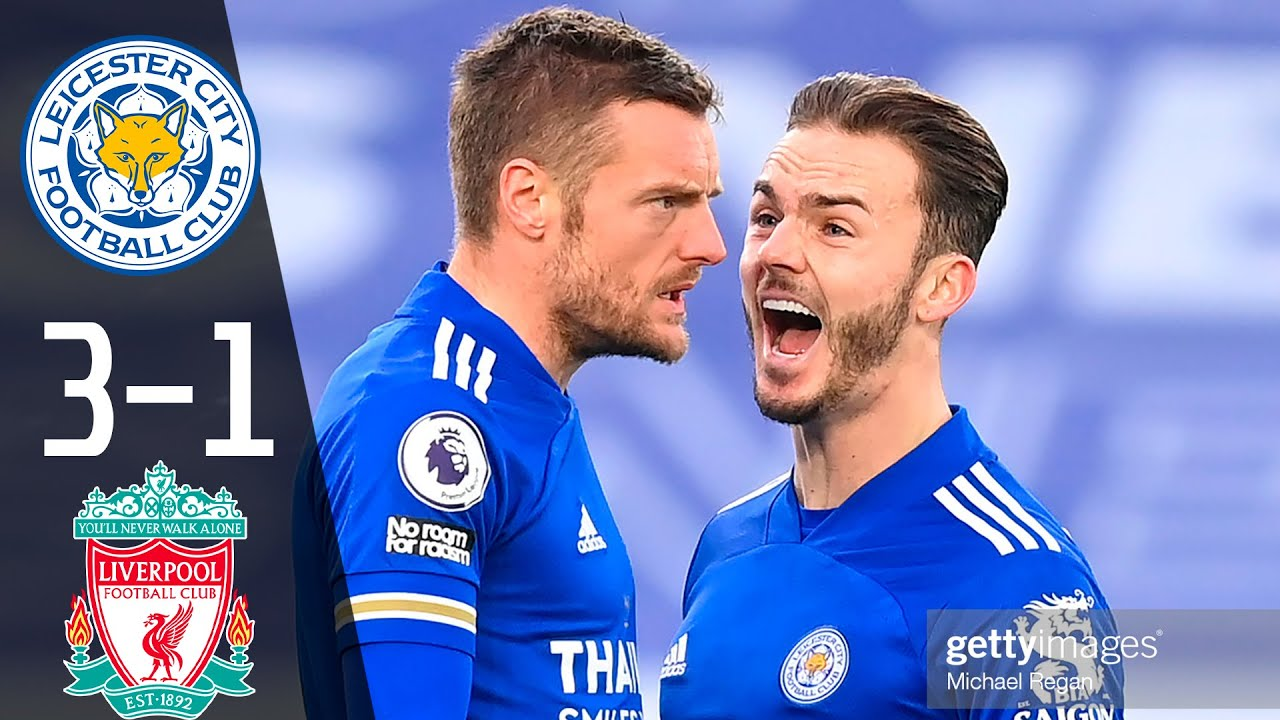 Leicester City Vs Liverpool 3 1 Highlights Goals 2021 Hd Youtube