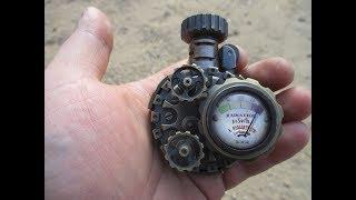 "Machining Steampunk Lighter ""Radiation""(Time Lapse)"