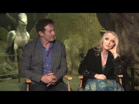 Forbidden Forest WB Studio Tour London: Jason Isaacs and Evanna Lynch Interview