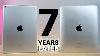 2017 iPad vs First iPad! 7 Year Comparison