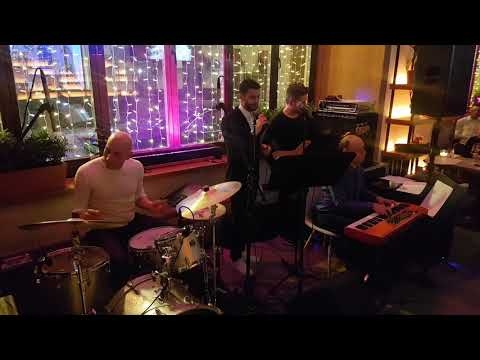"Jose Moryan & трио Сергея Хутаса. Maria Tarasevich Jazz Nights. Открытие ""Little Garden"""