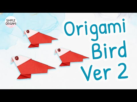 Quick and Easy Instructions to Master the Origami Bird | 360x480