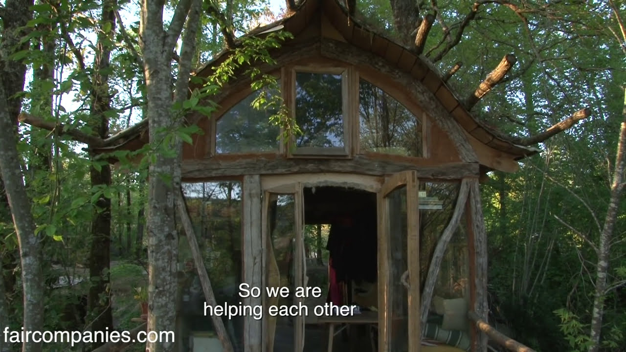 French Carpenters Craft Whimsical Off-Grid Tiny House Hamlet  Kirsten  Dirksen 11:12 HD