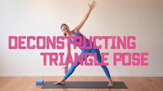 Asana Deconstruction   Triangle Pose