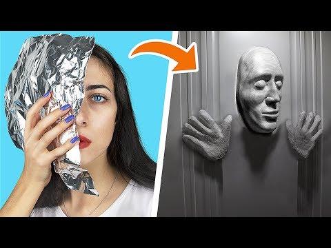 13 лайфхаков для Хэллоуина / Декор для Хэллоуина своими руками