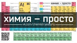 Новейшая таблица Менделеева. Химия – просто
