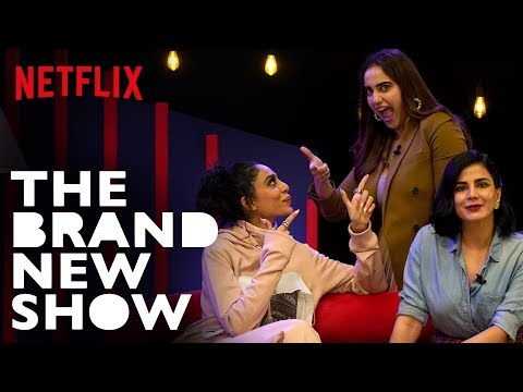 Watch: Kirti Kulhari and Sobhita Dhulipala on Netflix's 'The Brand New Show,' hosted by Kusha Kapila