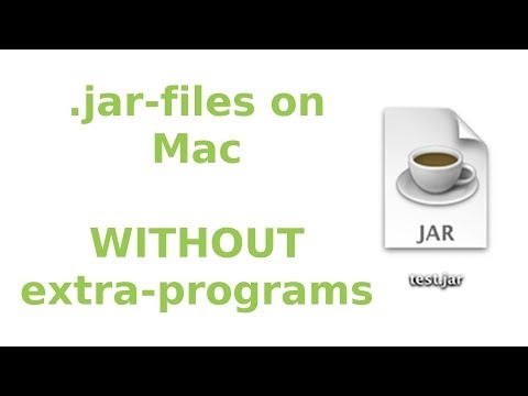 Open/edit .jar-files on Mac (WITHOUT extra-programs) ᴴᴰ