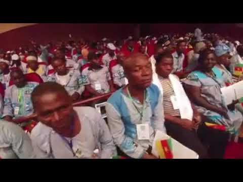 Maurice KAMTO indexe directement Paul BIYA dans une salle pleine à craquer - 2è Convention du MRC