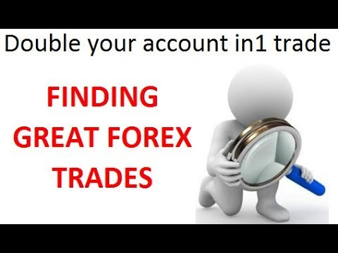 Part 3 - I double my LIVE Forex account in 1 trade. How I analyse my short list of Forex currencies