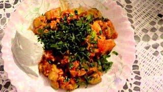 Кабачки тушеные (в мультиварке) Kabak yemeyi. Турецкая кухня.