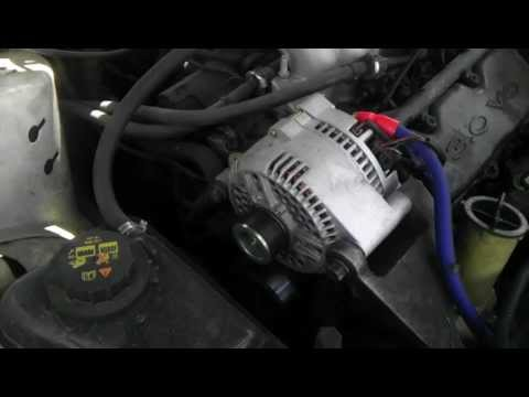 big three upgrade og wire high output alternator 250 amp - YouTube