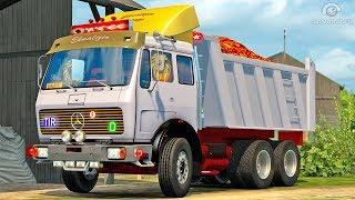 Mercedes NG 1632 dump ETS2 (Euro Truck Simulator 2)