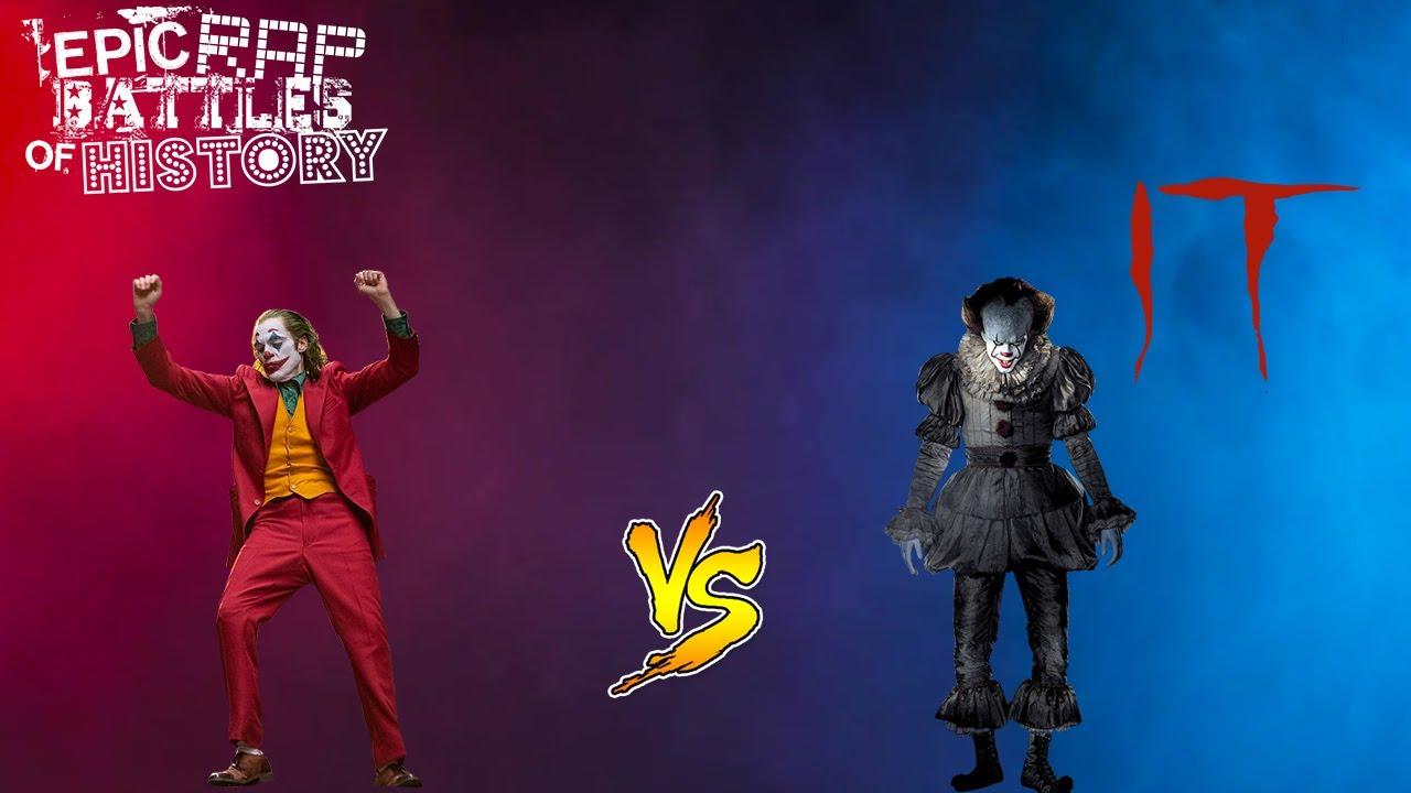 ERB: The Joker vs Pennywise Reaction