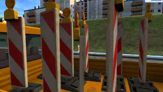 PC Road Construction Simulator video game trailer - PC