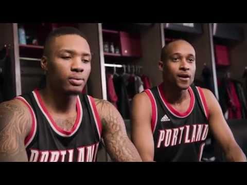 The New NBA Swingman Jerseys - featuring Damian Lillard