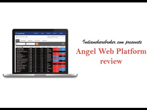 Angel Broking Web platform review