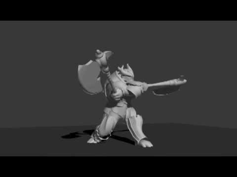 2016 Game animation demoreel